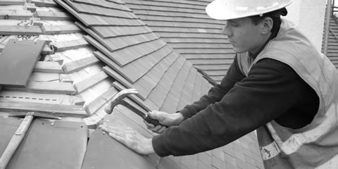 Roof Tile Repair Leixlip