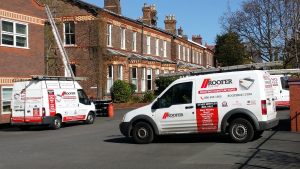 Roofers Dublin Vans